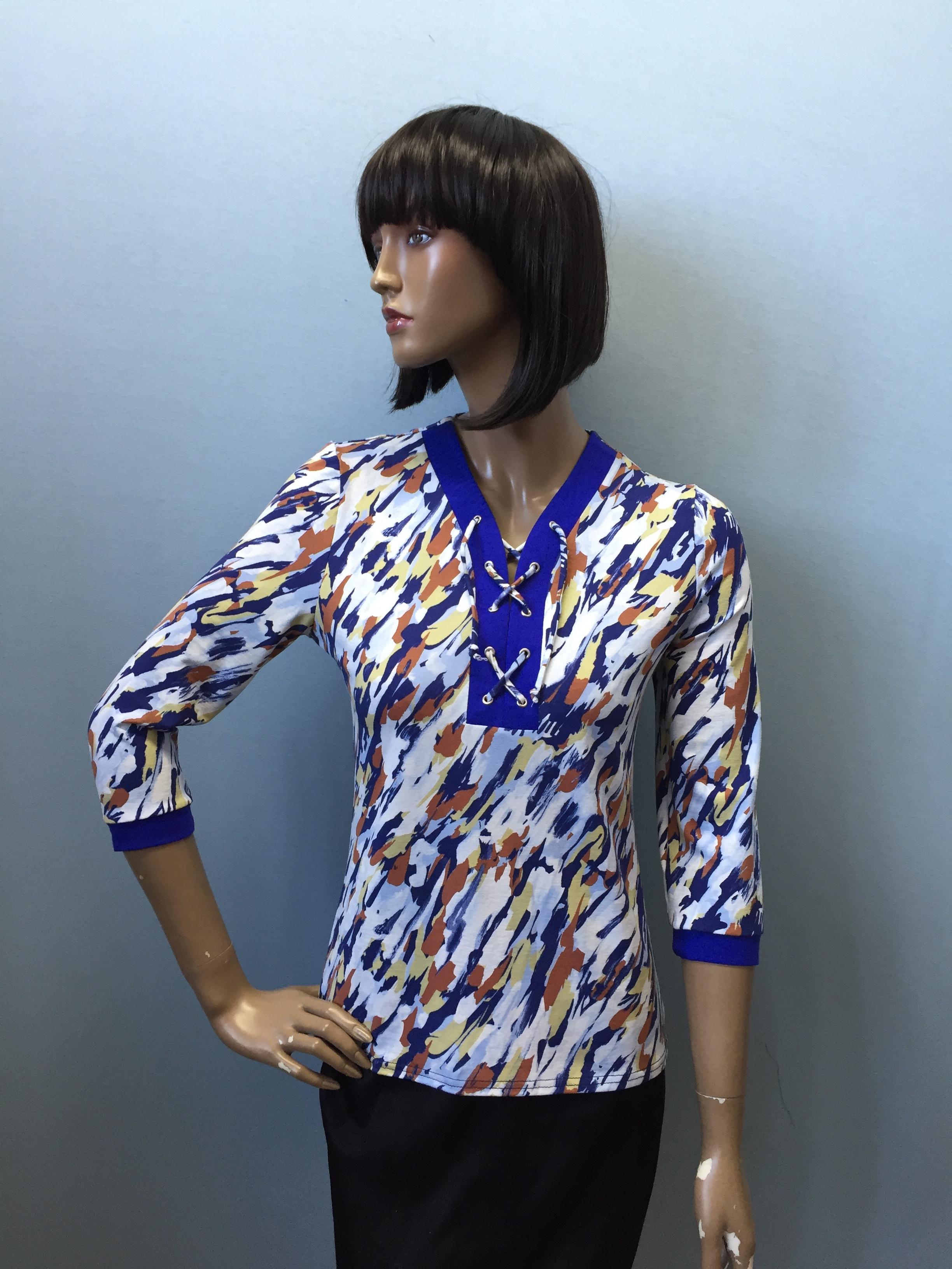 Фотография блузка, состав вискоза, артикул 455-6