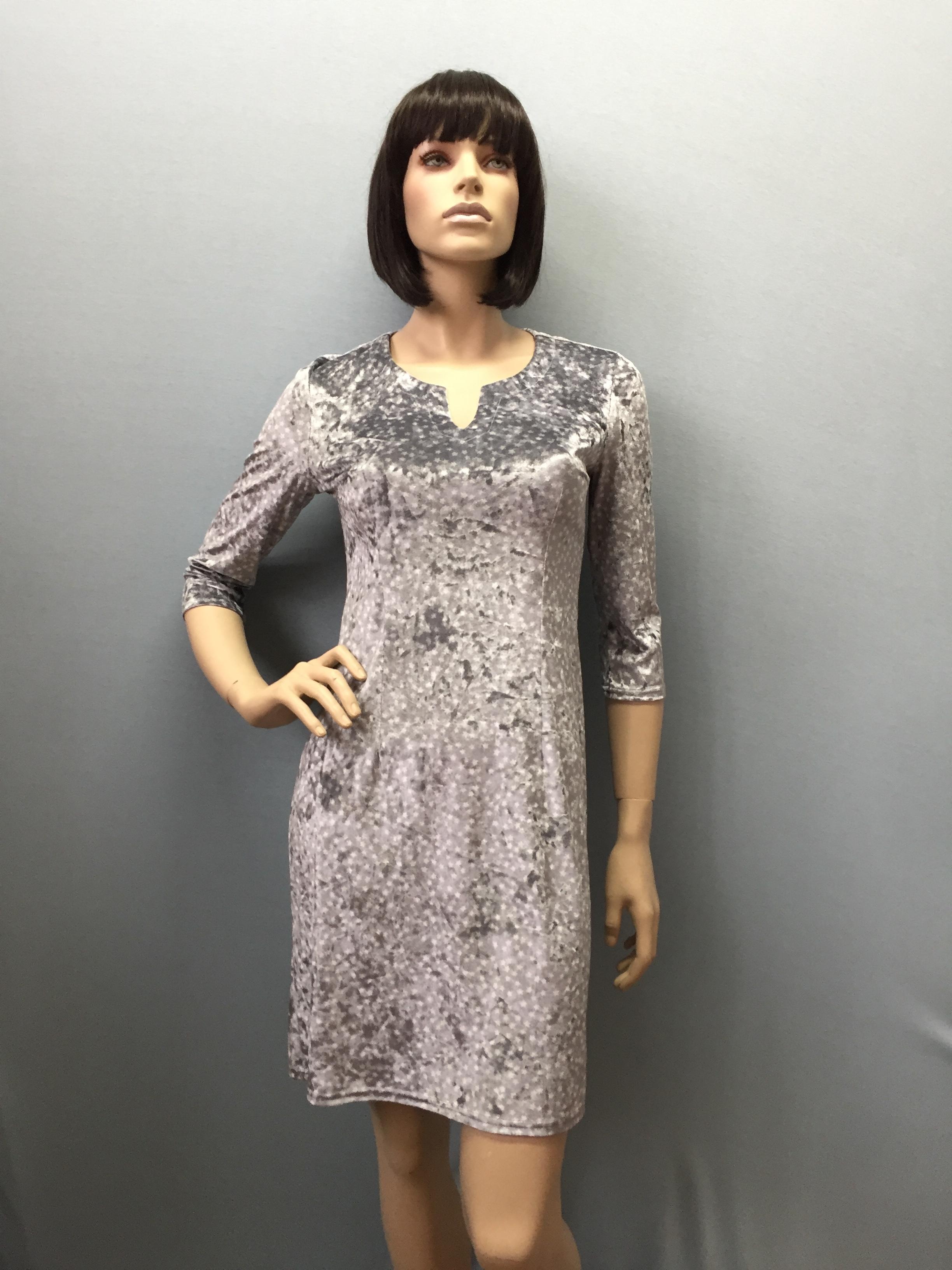 Фото платье, состав бархат, артикул 17.1-10