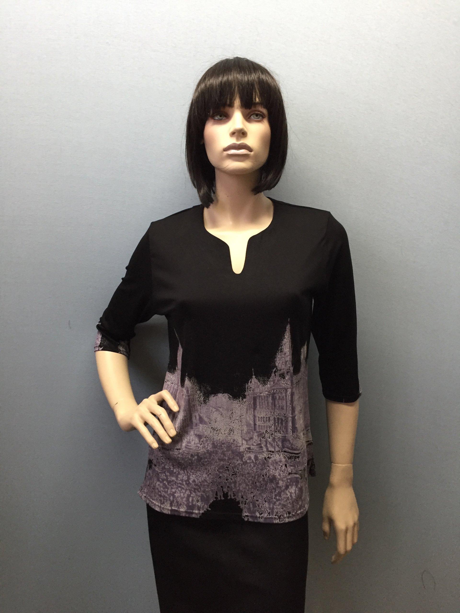 Фото блузка, состав вискоза, размеры 50-58, артикул 125-7