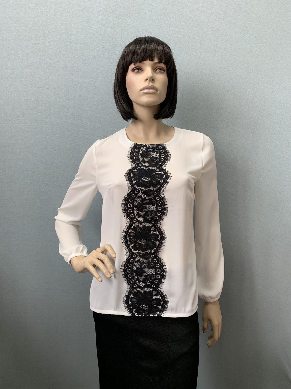 Фото блузка, состав креп-шифон, размеры 46-54, артикул 405-2