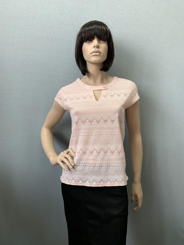 Фото блузка, состав хлопок 50%, полиэстер 50%, размеры 46-54, арт 315-7