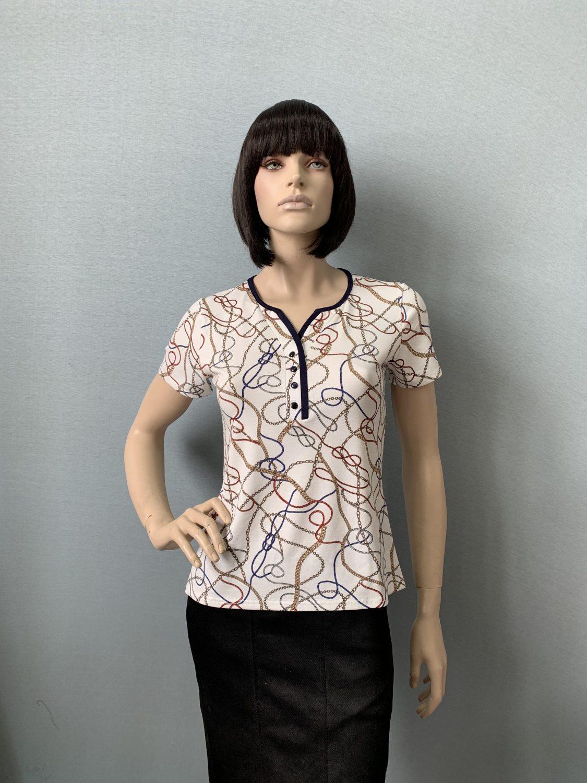 Фото блузка, состав вискоза, размеры 46-54, артикул 551-4