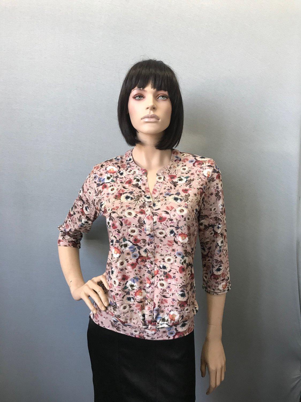 Фото блузка, состав вискоза, размеры 50-56, артикул 22-13