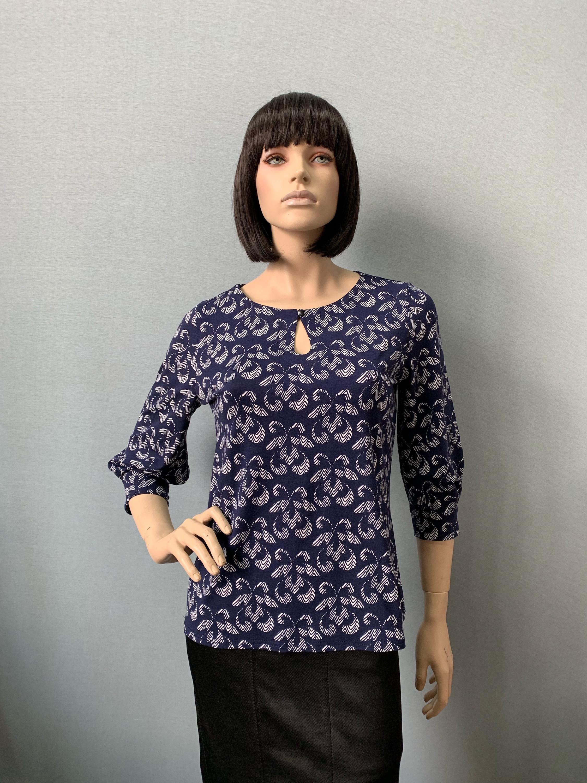 Фото блузка, состав вискоза, размеры 46-54, артикул 206-41