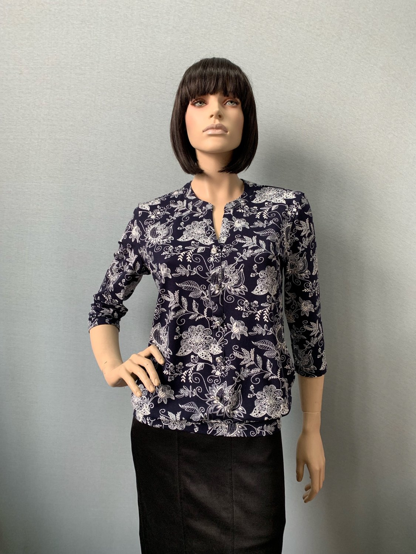Фото блузка, состав вискоза, размеры 50-56, артикул 2075