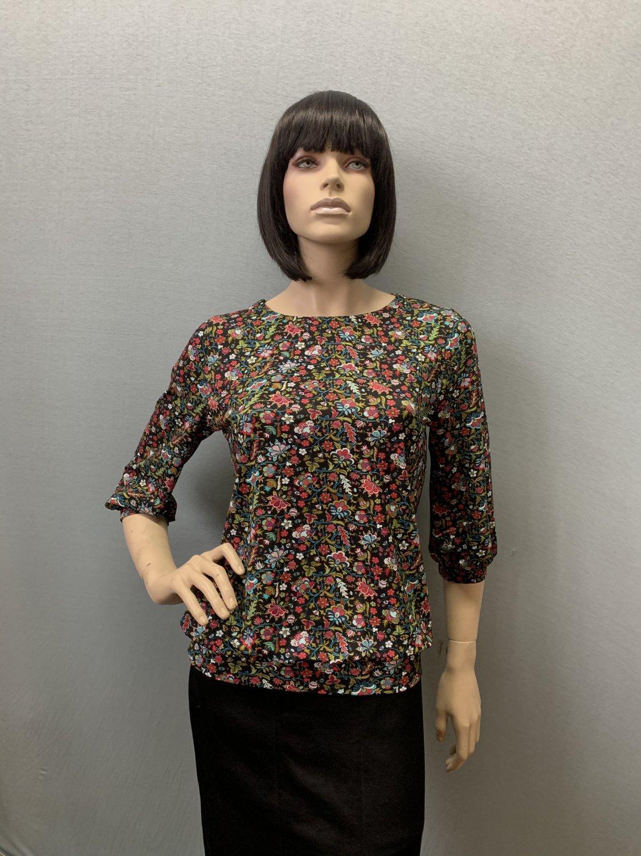 Фото блузка, состав вискоза, размеры 46-54, артикул 205.2-17
