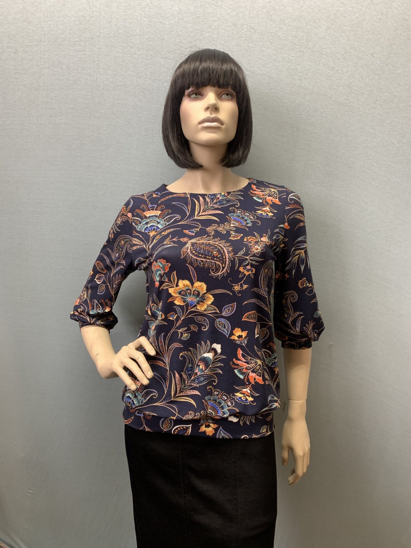 Фото блузка, состав вискоза, размеры 46-54, артикул 205.2-18