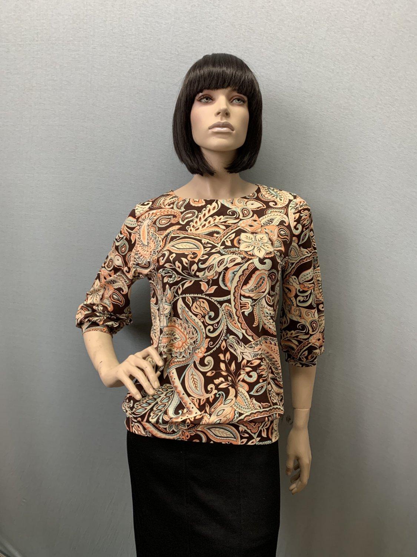 Фото блузка, состав вискоза, размеры 46-54, артикул 205.2-19