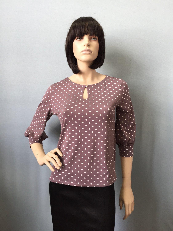 Фото блузка, состав вискоза, размеры 46-54, артикул 206-50