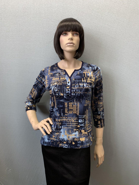 Фото блузка, состав вискоза, размеры 46-54, артикул 551-9