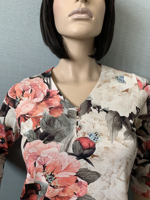 Фото блузка, состав вискоза, размеры 46-54, артикул 202-4-n