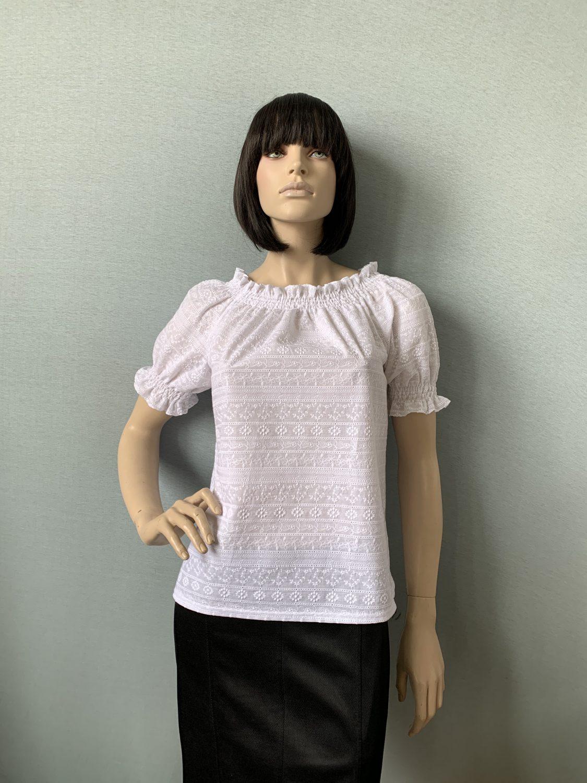 Фото блузка, состав хлопок 100%, размеры 44-50, арт 300-4
