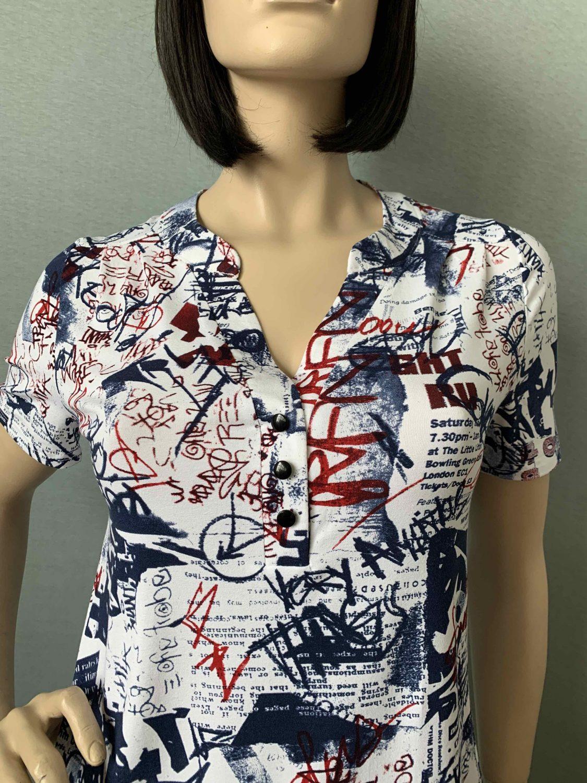 Фотография блузка, состав вискоза, артикул 560-3-z