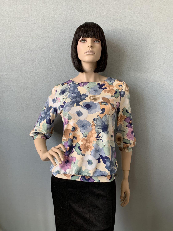 Фото блузка, состав вискоза, размеры 46-54, артикул 205.2-27