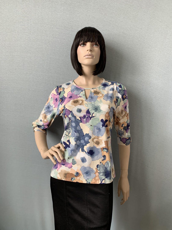Фото блузка, состав вискоза, размеры 46-54, артикул 209-4