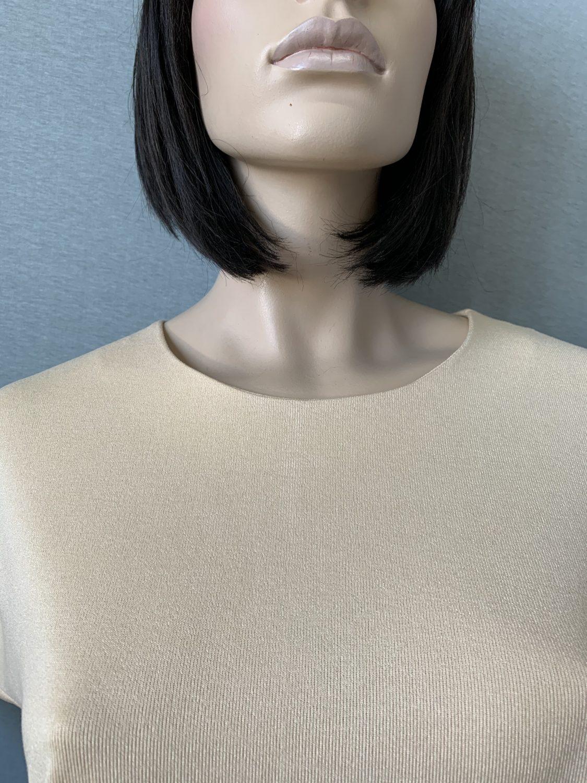 Фото блуза, состав вискоза 70%, полиэстер 25%, 5% эластан, размеры 52-58, артикул 28-1-n