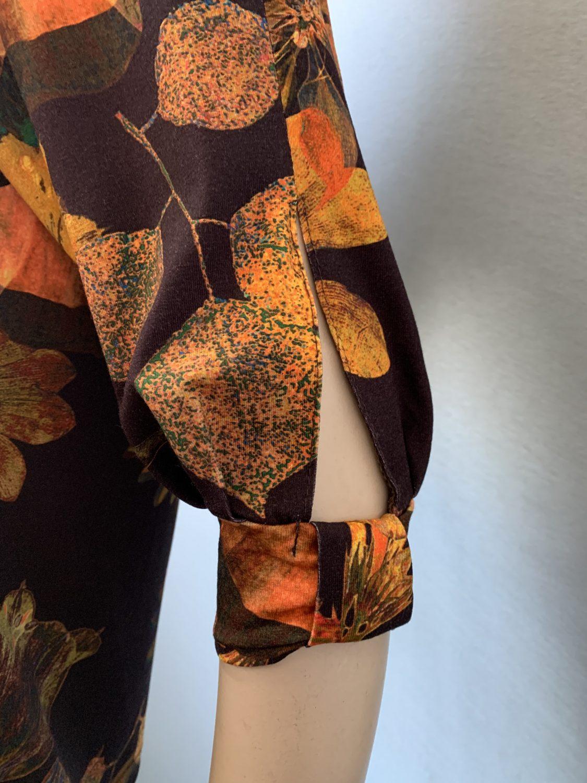 Фото блузка, состав вискоза, размеры 46-54, артикул 209-6-h