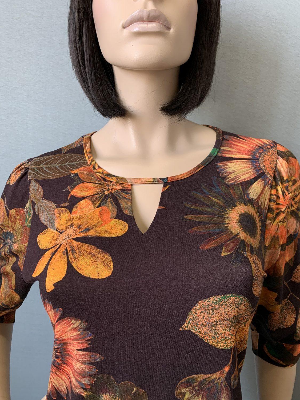 Фото блузка, состав вискоза, размеры 46-54, артикул 209-6-n