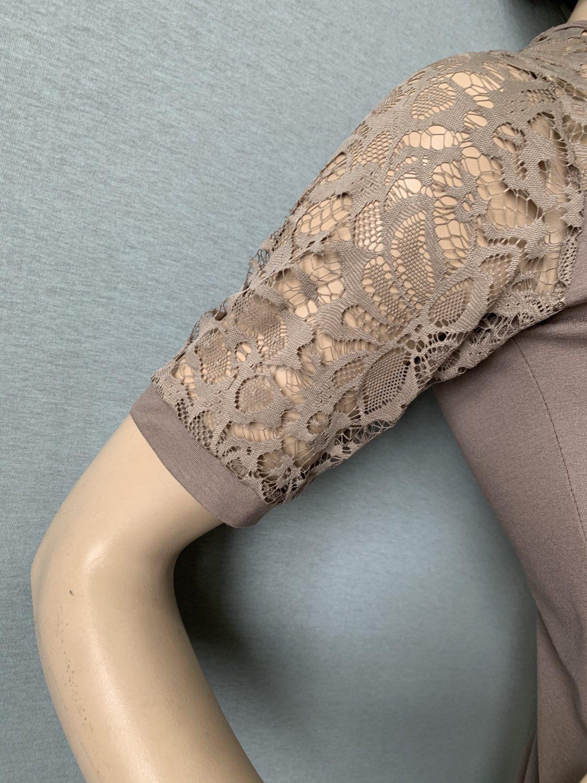 Фото блузка, состав вискоза и кружево, размеры 48-58, артикул 39-1-h