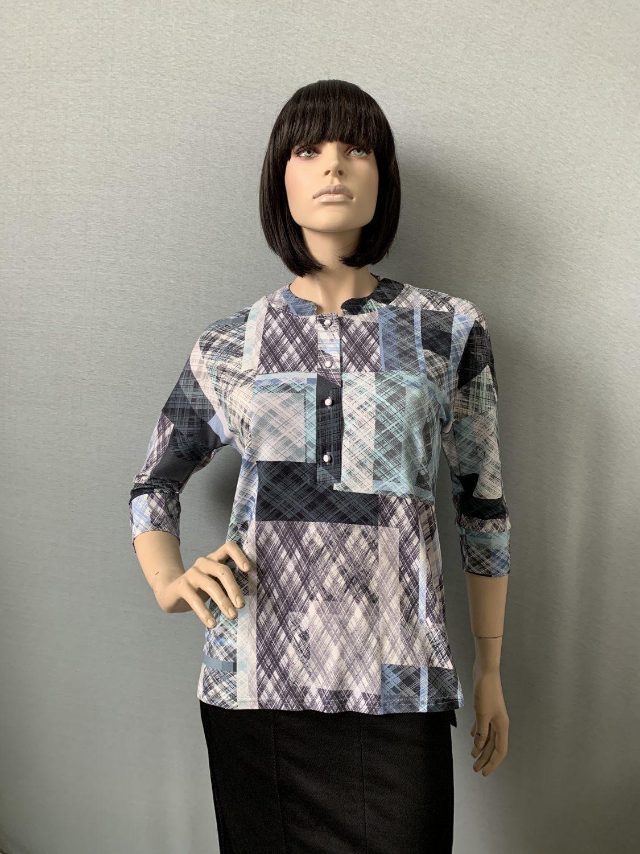 Фото блузка, состав вискоза, размеры 46-54, артикул 660-2