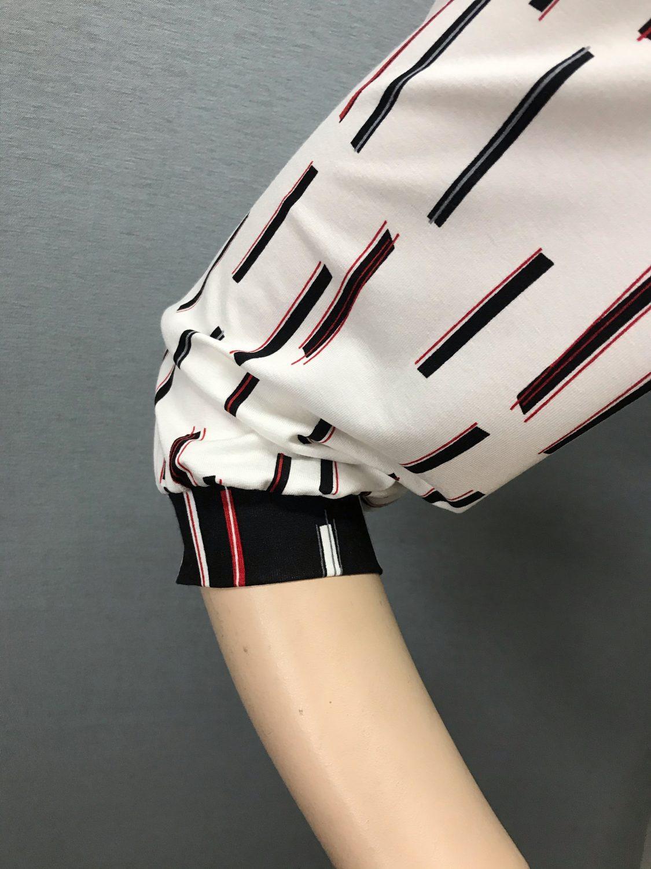 Фото блузка, состав 92% вискоза , 8% эластан, рукав: р-р 48-56, рукав: втачной с манжетой, выточки на груди, размеры 46-54, артикул 680-2